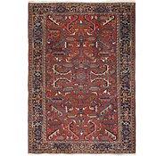 Link to 7' x 11' Heriz Persian Rug