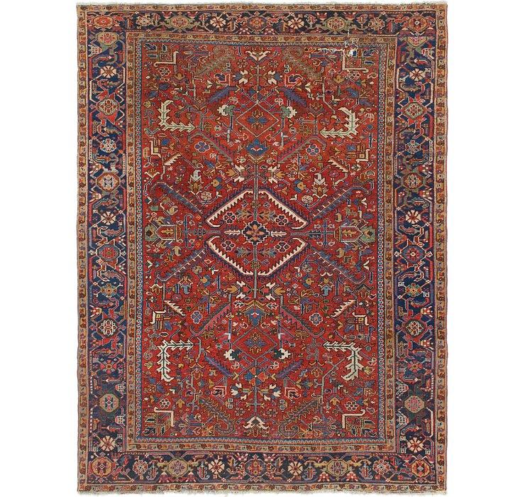 8' x 10' 7 Heriz Persian Rug