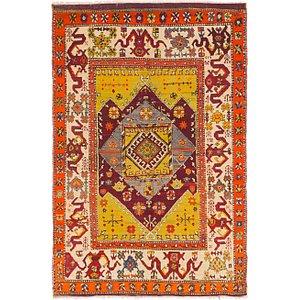 HandKnotted 5' x 7' 8 Kars Oriental Rug