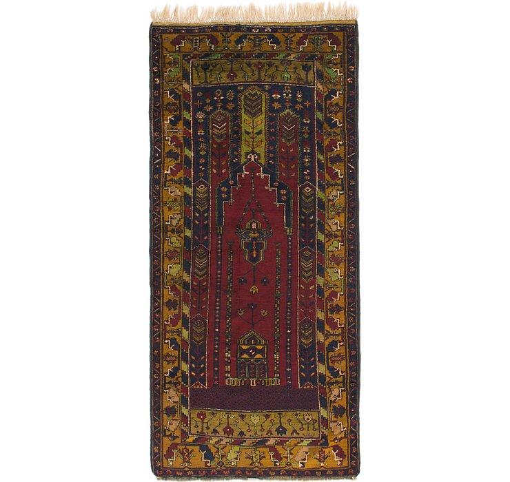 4' x 8' 10 Anatolian Runner Rug