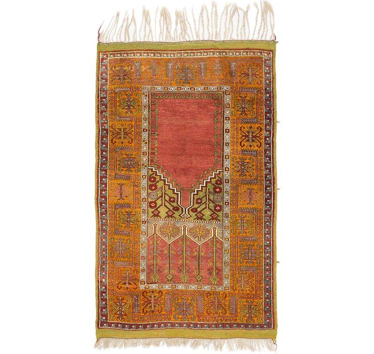 4' 4 x 7' Anatolian Runner Rug