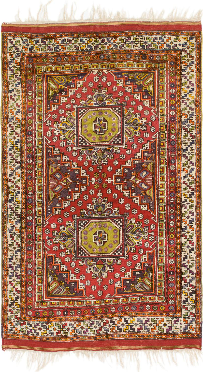 Main Handknotted 5 4 X 8 6 Anatolian Oriental Rug Photo