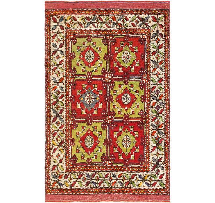 4' 10 x 7' 5 Anatolian Rug