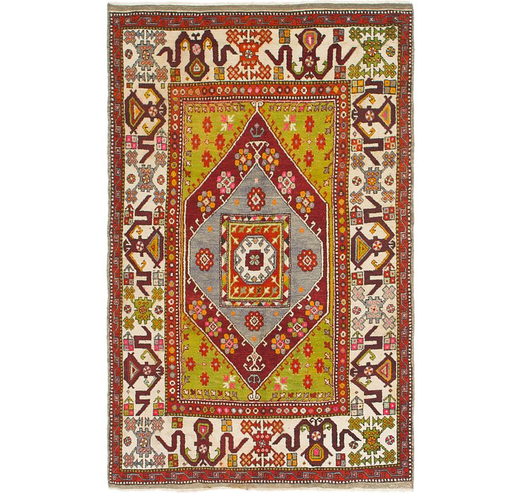 5' 10 x 9' 5 Anatolian Rug