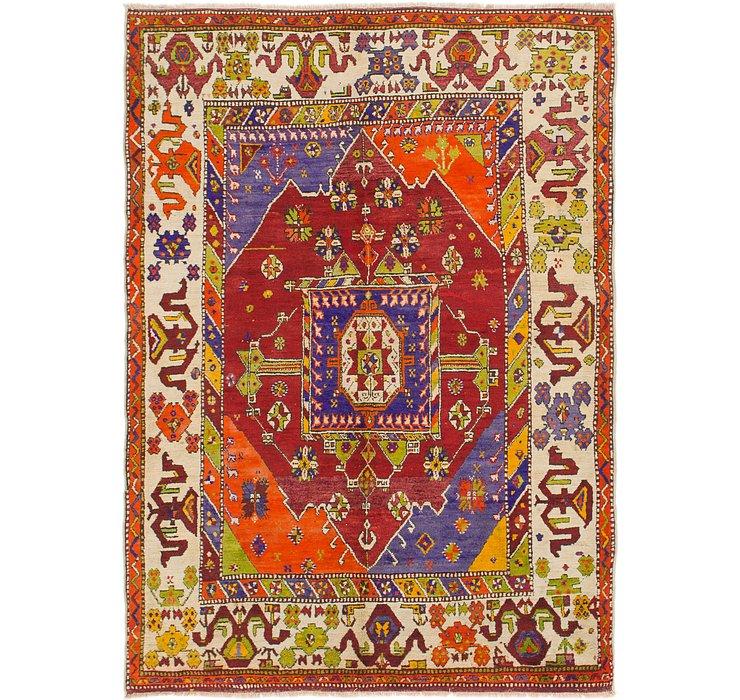 5' 7 x 7' 10 Anatolian Rug
