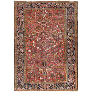 Link to 6' 3 x 8' 9 Heriz Persian Rug item page