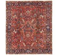 Link to 7' x 8' Heriz Persian Rug