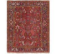 Link to 5' 10 x 7' Heriz Persian Rug