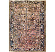 Link to 7' 10 x 11' Heriz Persian Rug