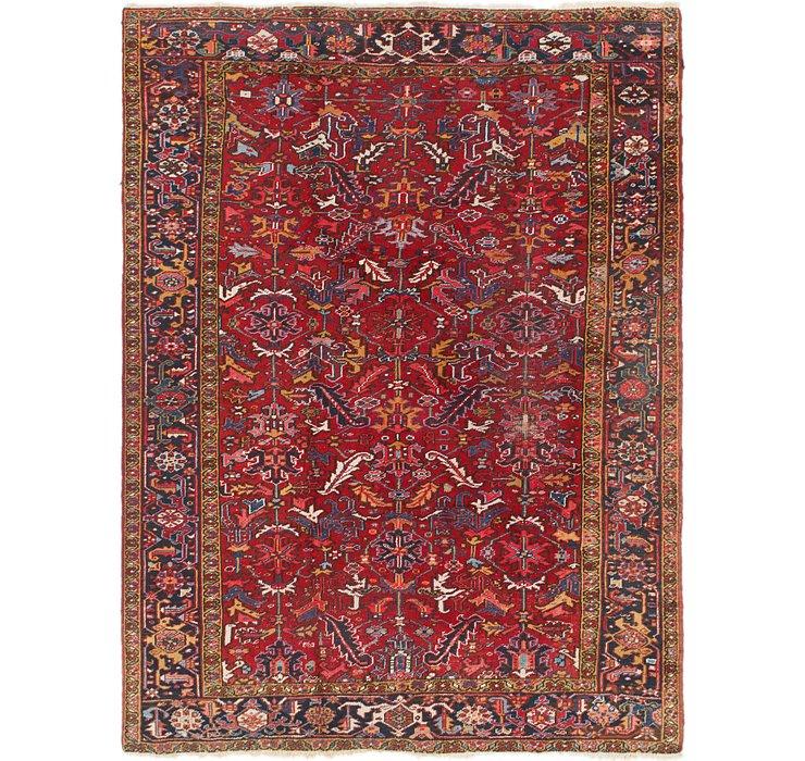 7' 6 x 9' 8 Heriz Persian Rug