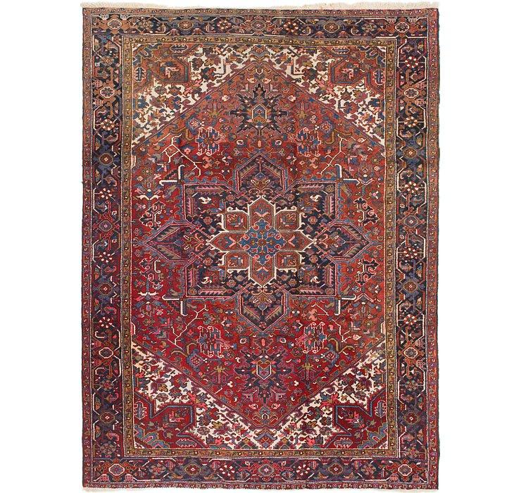 8' 9 x 11' 10 Heriz Persian Rug