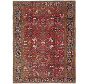 Link to 8' 3 x 11' 4 Heriz Persian Rug