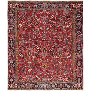 Link to 225cm x 275cm Heriz Persian Rug item page
