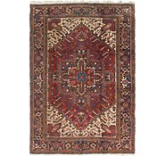Link to 6' 5 x 9' Heriz Persian Rug