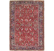 Link to 7' 9 x 11' 5 Heriz Persian Rug