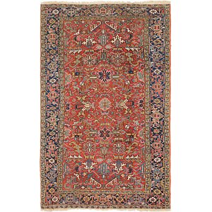 Link to 6' 9 x 10' 8 Heriz Persian Rug item page