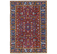 Link to 7' 6 x 10' 6 Heriz Persian Rug