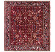 Link to 8' x 8' 9 Heriz Persian Square Rug