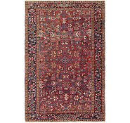 Link to 7' 5 x 11' 2 Heriz Persian Rug