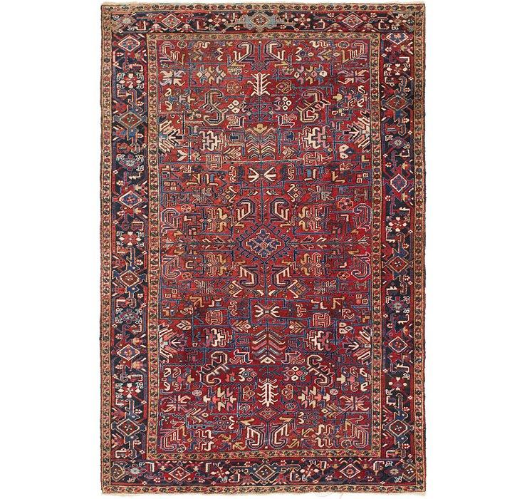 7' 5 x 11' 2 Heriz Persian Rug