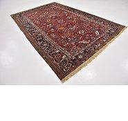 Link to 7' 6 x 11' 4 Heriz Persian Rug