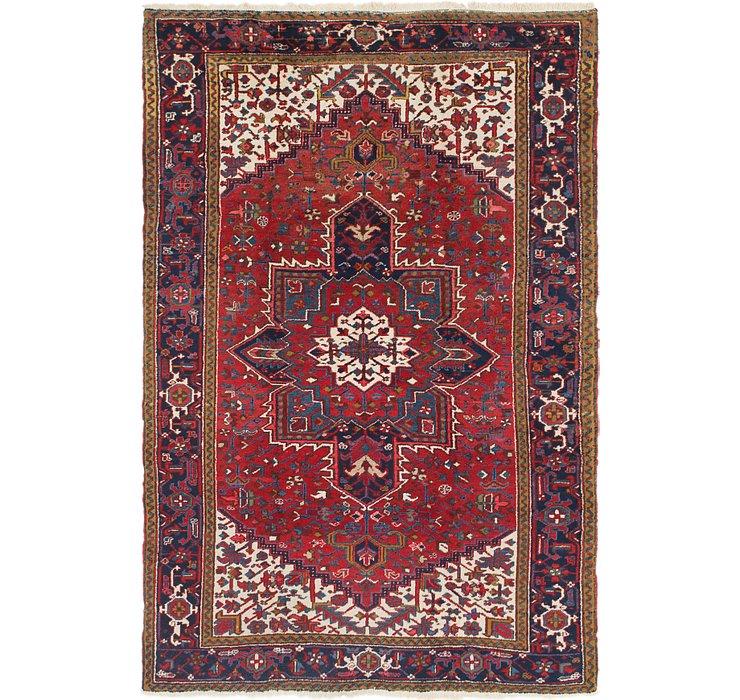 6' 9 x 10' 2 Heriz Persian Rug