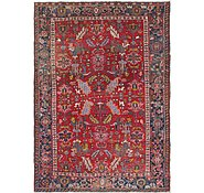 Link to 7' x 9' 6 Heriz Persian Rug