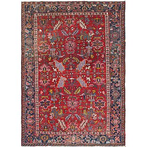 213cm x 290cm Heriz Persian Rug