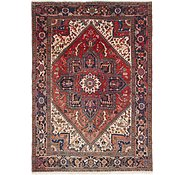 Link to 6' 6 x 9' 3 Heriz Persian Rug