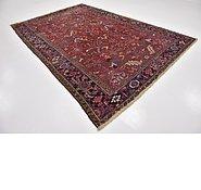 Link to 7' 8 x 11' 5 Heriz Persian Rug
