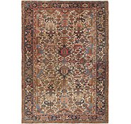 Link to 7' 5 x 10' Heriz Persian Rug