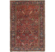 Link to 6' 7 x 9' 7 Heriz Persian Rug