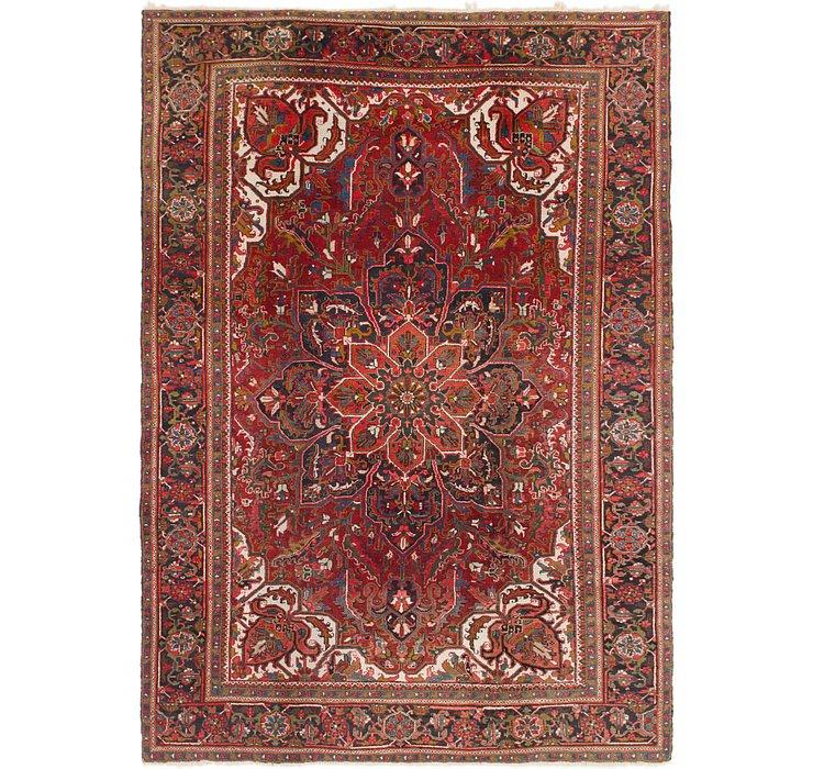 7' 9 x 11' 4 Heriz Persian Rug