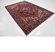 Link to 6' 7 x 10' Heriz Persian Rug