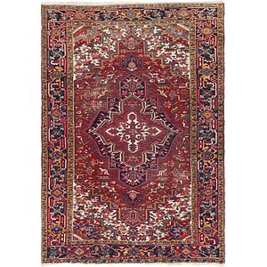 200cm x 305cm Heriz Persian Rug