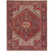 Link to 7' 7 x 9' 3 Heriz Persian Rug