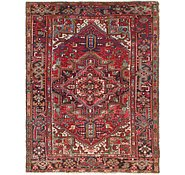 Link to 6' 8 x 8' 6 Heriz Persian Rug