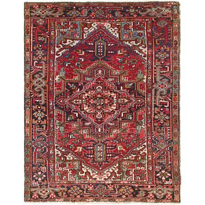 Link to 203cm x 260cm Heriz Persian Rug item page