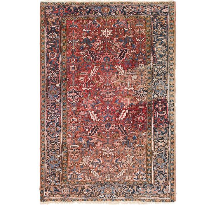 6' 9 x 9' 9 Heriz Persian Rug