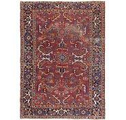 Link to 7' 5 x 10' Heriz Persian Rug
