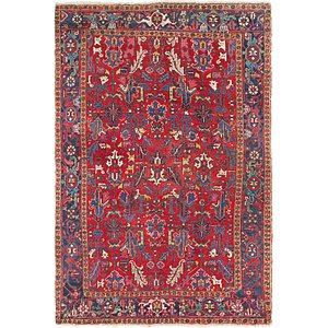HandKnotted 7' 3 x 10' 9 Heriz Persian Rug
