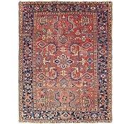 Link to 7' 2 x 9' 4 Heriz Persian Rug