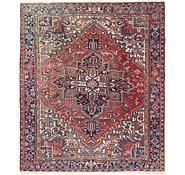Link to 8' x 9' 4 Heriz Persian Rug