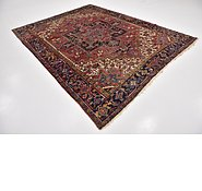 Link to 7' 9 x 9' 10 Heriz Persian Rug
