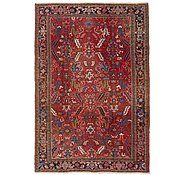 Link to 7' 10 x 11' 5 Heriz Persian Rug