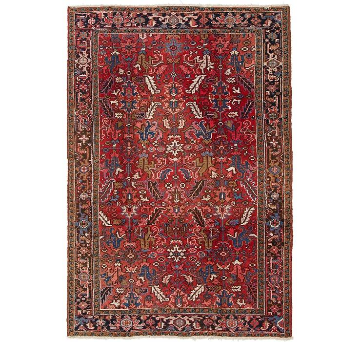 7' 10 x 11' 5 Heriz Persian Rug