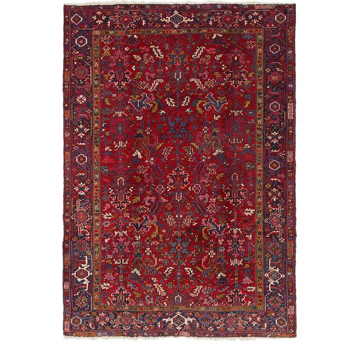 7' 3 x 10' 3 Heriz Persian Rug