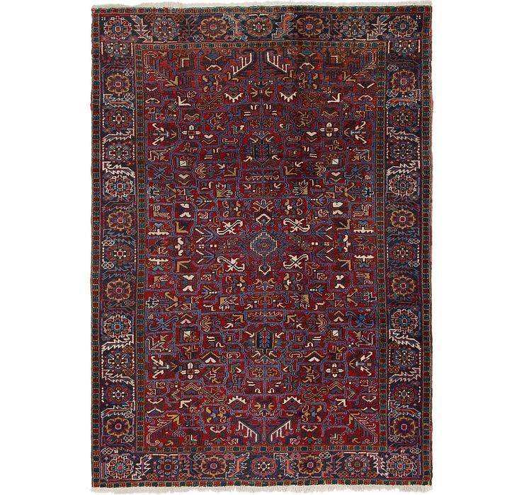 7' 10 x 11' 2 Heriz Persian Rug