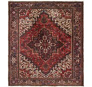 Link to 7' 8 x 8' 9 Heriz Persian Square Rug