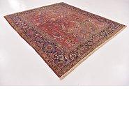Link to 7' 7 x 8' 9 Heriz Persian Square Rug
